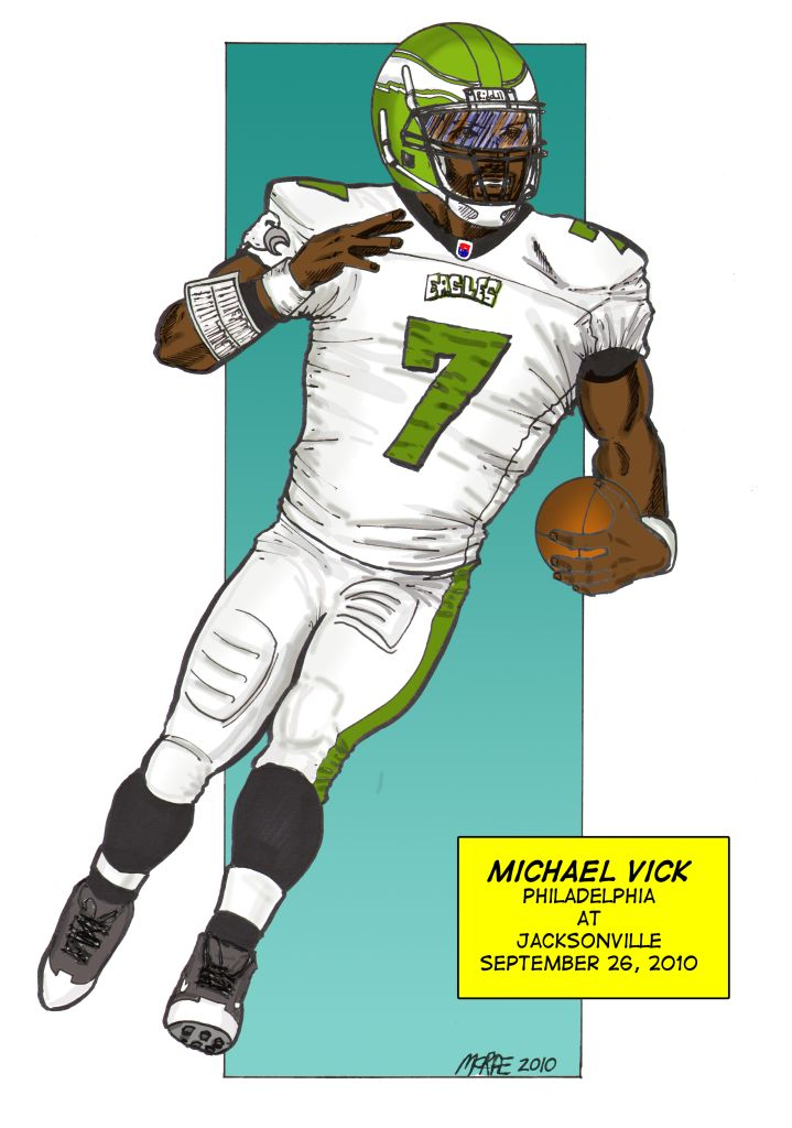 michael vick coloring pages - photo#9