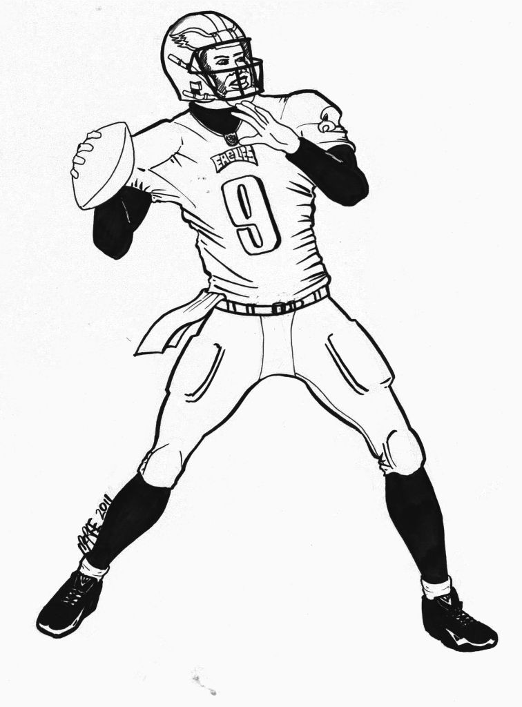 michael vick coloring pages - photo#3